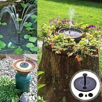 Solar Bird Bath Fountain - Great Addition to Your Garden! - InspiringBand