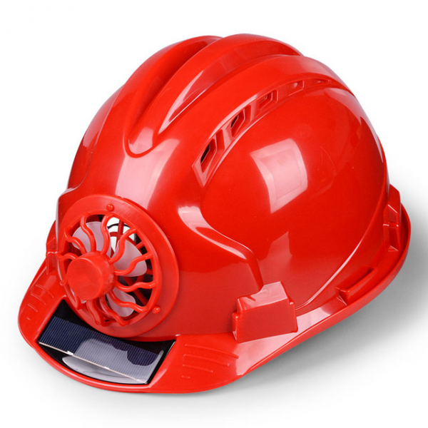 Hard Hat With Solar Cooling Fan - InspiringBand